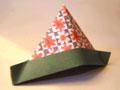 折纸:纸帽子的折法缩略图